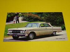 1964 MERCURY COMET 404 POSTCARD, DEALER ADVERTISEMENT