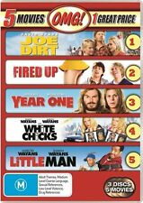 Joe Dirt / Fired Up / Year One / White Chicks / Little Man DVD