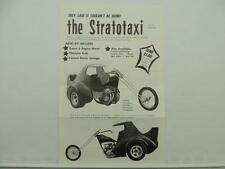 Vintage Randy Cover Kit Stratotaxi Brochure Honda CB750 Chopper L6904