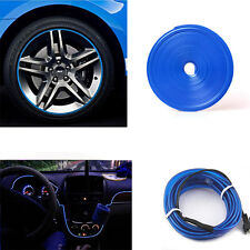 8M Tire Guard Protector Line Glue Rubber + 6.5ft Car Panel Neon Cold Led  Light