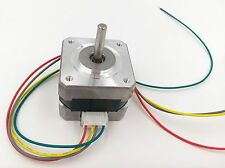 Nema 17 Stepper Motor 4 leads 34mm 12V / 0.4A 26Ncm(36.8oz.in) 3D Printer Motor