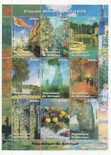 CLAUDE MONET 1840-1926 IMPRESSIONIST PAINTER 1999 MNH STAMP SHEETLET