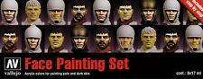 Vallejo BNIB AV Vallejo Model Color Set - Faces Painting Set (x8) VAL70119