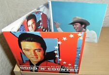 "ELVIS PRESLEY CD ""GOOD 'N' COUNTRY"" 2015 WELCOME TO MY WORLD FADED LOVE SNOWBIRD"