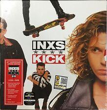 INXS KICK 25th ANNIVERSARY LIMITED EDITION 3CD + DVD +STORY BOOK +POSTER  BOXSET