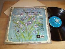 EMI QELP 8132 mono Nm BENIAMINO GIGLI Non Ti Scordar Di Me/Cherubini-Bixio 1962