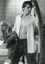 ALAIN DELON 70s VINTAGE PHOTO ORIGINAL #2