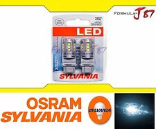 Sylvania Premium Led White 6000K 3157 T25 Two Bulbs Upgrade Replacement Light