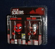 "SDCC 2014 Exclusive NECA Scalers 2 PK - SPIDER-MAN & IRON MAN 2"" Figures Marvel"