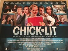 Chick Lit Original U.K. Quad Poster