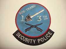 US 13th Aviation Bn SECURITY POLICE At SOC TRANG Province - Vietnam War Patch
