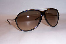 NEW YVES SAINT LAURENT SUNGLASSES YSL 2354/S AQT-CC HAVANA/BROWN AUTHENTIC