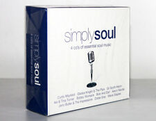 SIMPLY SOUL [4 CD'S OF ESSENTIAL SOUL MUSIC / 2005] 698458241122