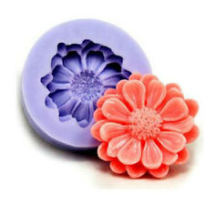 3D Silicone Cake Mold Daisy/Chrysanthemum Shape Mold For Chocolate Pudding Hot