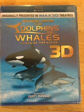 Dolphins and Whales 3D: Tribes of the Ocean Blu-ray Disc, 2011, 2-Disc Set, 3D