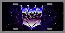 L@@K! #2 Decepticon Transformers License Plate Vanity Auto Tag