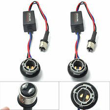 2x 1157 LED Warning Canceller Decoder Turn Signal Light Error Free Load Resistor