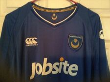 Portsmouth F.C soccer jersey NWT XL ,made by Canterbury,England EPL