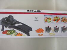 New Probus Fackelmann Professional Multi Purpose Mandolin Slicer Black