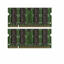 New! 4GB 2x2GB DDR2-667 SODIMM Laptop Memory PC2-5300