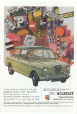 Wolseley Hornet Mini MODERN postcard issued by Vintage Ad Gallery