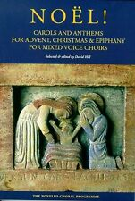 Noel! Carols Anthems Advent Christmas Epiphany Vocal Choral Voice Music Book