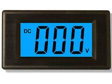 3 1/2 Blue LCD Digital Volt Panel Meter DC 20V