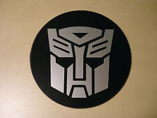 Tax Disc Holder Magnetic Transformers Autobots silver logo fit rolls royce, saab