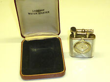 Lucerne watch lighter with Mother of pearl coat-Embalaje original - 1930-Germany-Rare