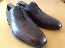 "LOAKE ""NORWICH""BROWN OXFORD SHOES. SIZE 8:5(UK).. SUPERB CONDITION."