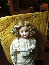 SIZE 7  8  9 PAIGE ASHE BLONDE ANTIQUE MODERN DOLL WIG  SYNTHETIC MOHAIR