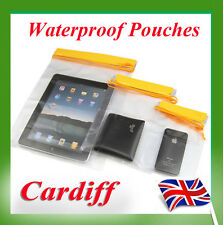 New 3X Waterproof Dry Bags For Camera Mobile Phone Pouch Backpack Military Kayak