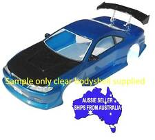 1:10 RC Clear Lexan Body Shell Nissan Silvia S15 200mm Nitro or Electric Colt