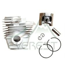 NEW CYLINDER HEAD PISTON KIT FOR STIHL MS361 47mm 361 PISTON PIN CLIPS RINGS