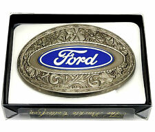 Ford Belt Buckle Car Truck Western Spec Cast Officially Licensed Collectible