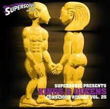 SUPERSONIC KINGS & QUEENS REGGAE & LOVERS ROCK MIX CD