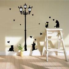 Lamp&Cat Birds Removable Vinyl Wall Sticker Decals Kids Nursery Room Decor LXL