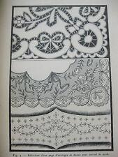1908 La femme dessinateur traité d'enseignement de dessin industriel M. Charles