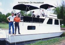 EZ 7 Deck/Pontoon/ Houseboat/ platform boat plans 18S