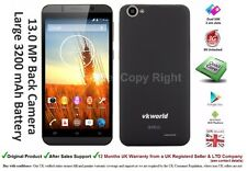 "VK700 5.5"" Android DUAL SIM Smartphone Mobile Quad Core 3G Unlocked 13 MP Camera"