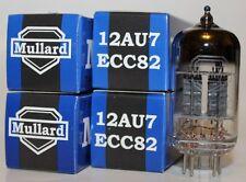 Matched Quad of Mullard 12AU7 / ECC82 pre-amp tubes, Reissue, NEW