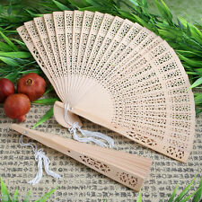 50 Sandalwood Fan Favors Wedding Bridal Shower Favor