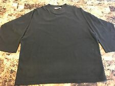 Patagonia Micro D-Luxe Mens Black Pullover Fleece Sweater Shirt Size XL