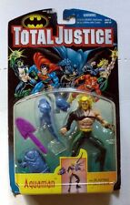 VINTAGE KENNER TOTAL JUSTICE AQUAMAN ACTION FIGURE MINT VERY RARE