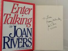 Joan Rivers SIGNED Autobiography 1986 Comedienne Late Show Johnny Carson HC/DJ