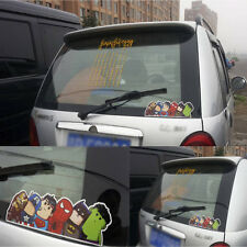 Hot Crooked Neck Super Heros Bumper/Windshield/Car Reflective Stickers Decals W5