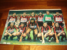 FRANCE FOOTBALL MAGAZINE     AUGUST 1980    COLOUR POSTER NICE (1980-81)    RARE