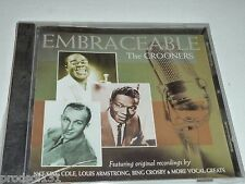 CD Embraceable: The CROONERS (2004 Music Mill) Nat Louis Bing Damone Torme Sammy
