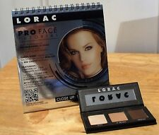 LORAC PRO MINI PALETTE W/ 3 SHADOWS + PRO FACE TUTORIAL NEW