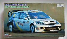 HASEGAWA CR-34 1/24 Ford Focus RS WRC '03 Finland rally winner discontinued kit